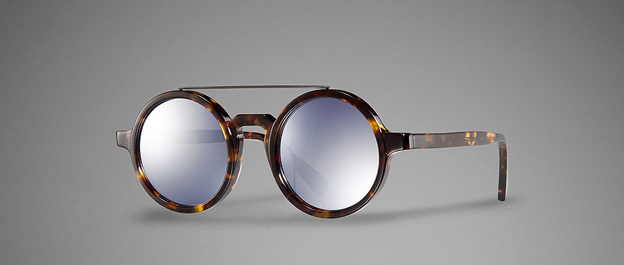Shanghai Tang Retro Round Glasses