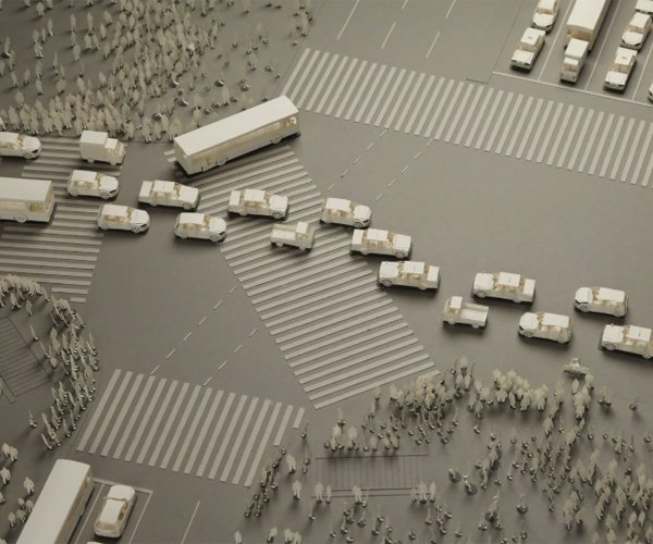 Shibuya Crossing Stop Motion