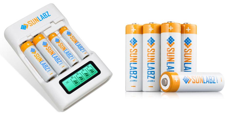 Deal: Rechargeable AA Battery Bundle