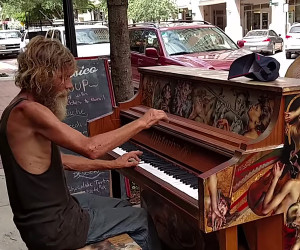 Talented, But Homeless