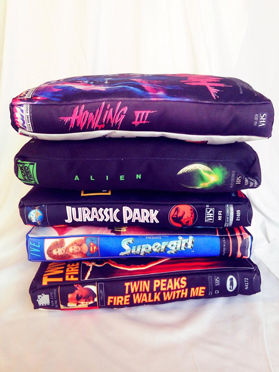 VHS Pillows