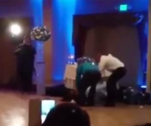 Wedding KO UFC Commentary