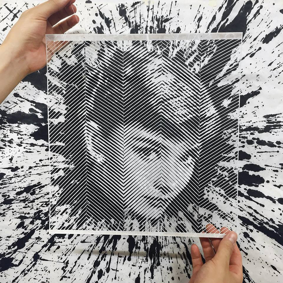 Yoo Hyun's Paper Portraits