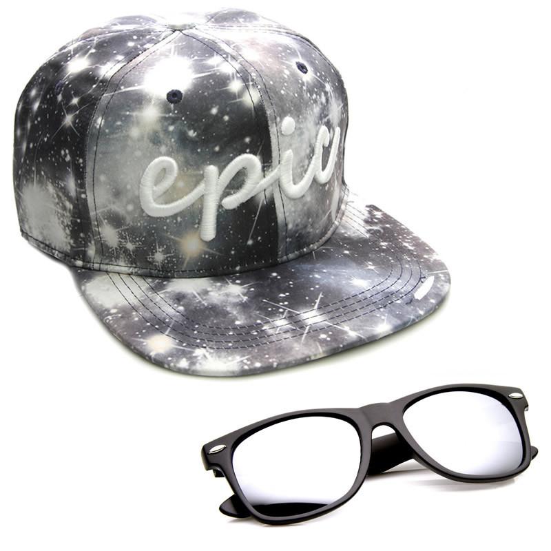 ZeroUV x Epic Snapback Caps