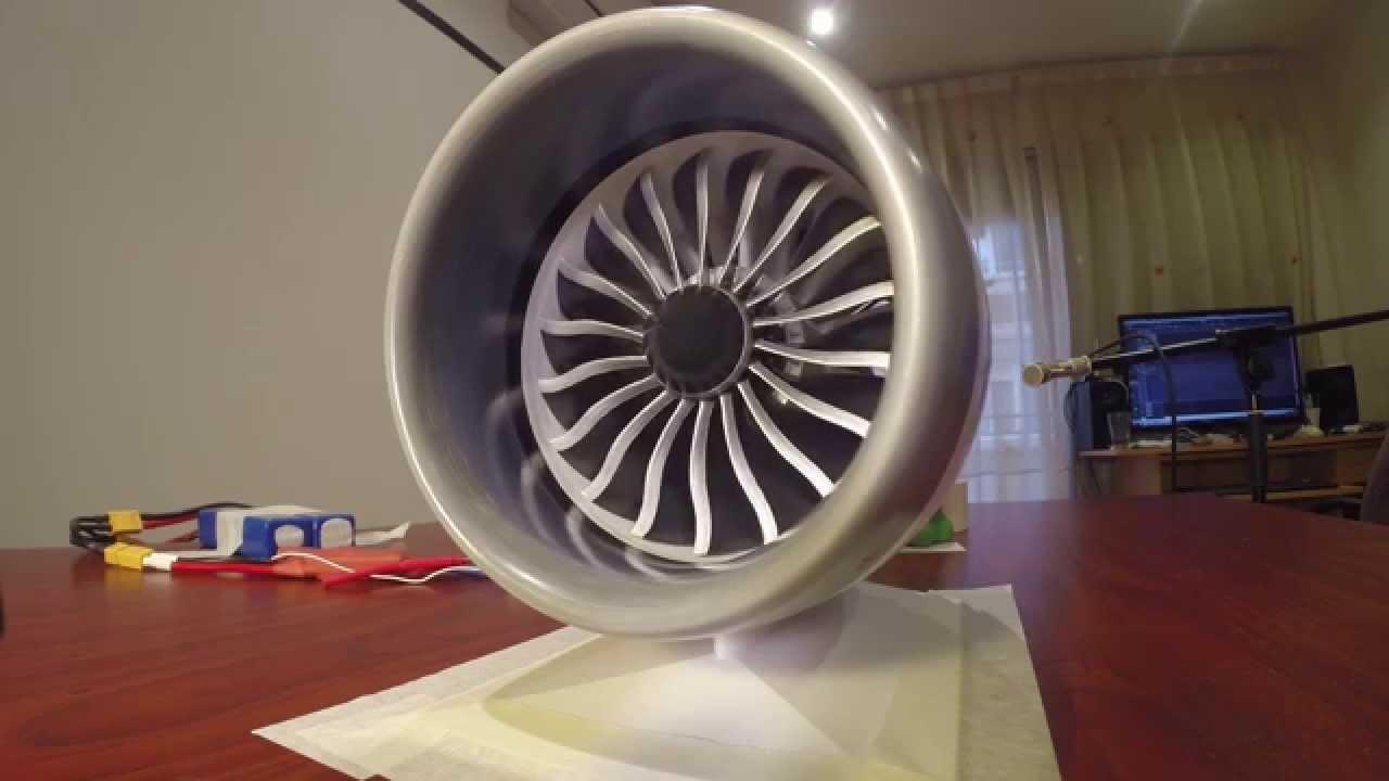 Working Jet Engine Model
