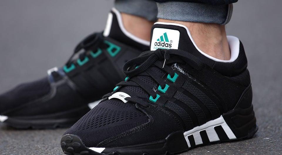 Adidas EQT Support 93 Classic Black