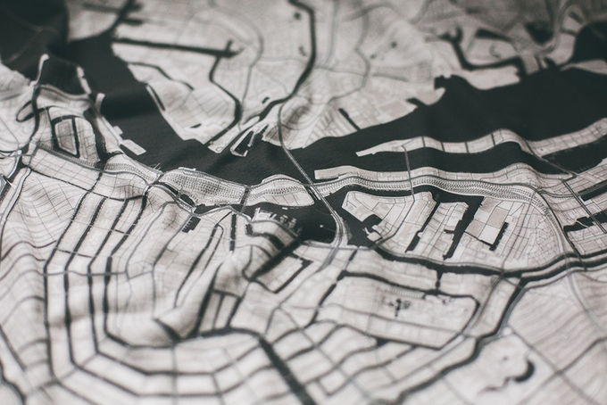 City Map T-shirts