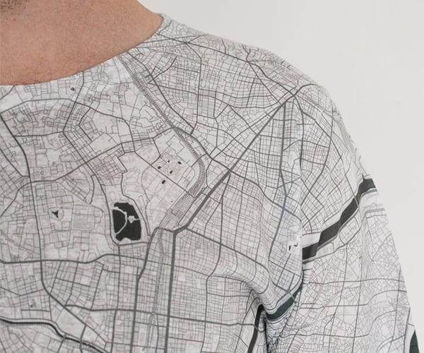 City Map T-shirts