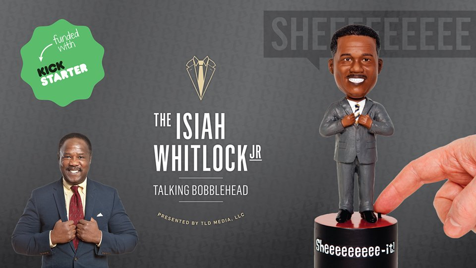 Clay Davis Talking Bobblehead