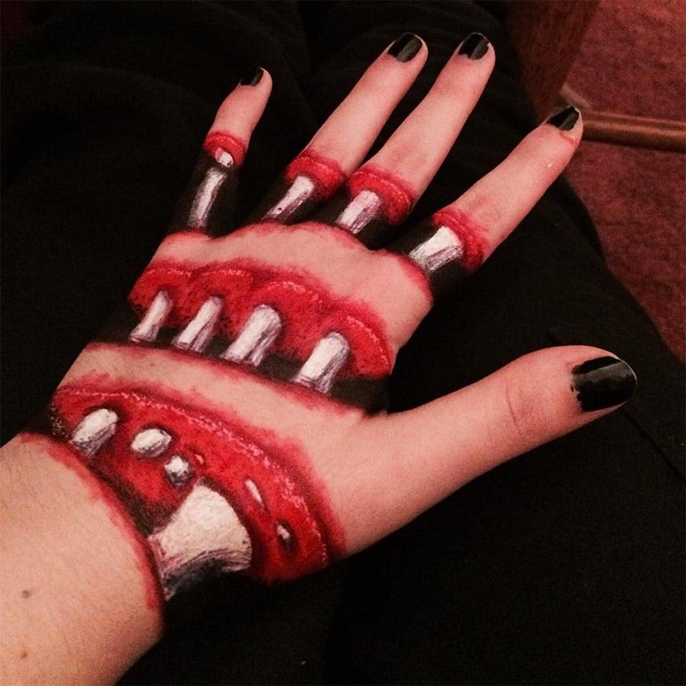 Creepy Hand Illusion