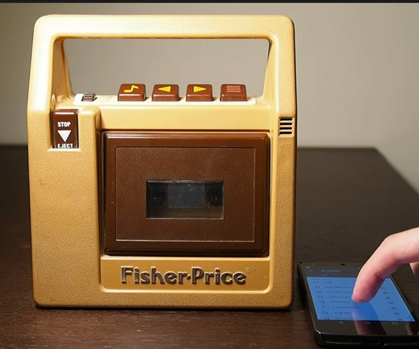 The Fisher Price Bluetooth Speaker