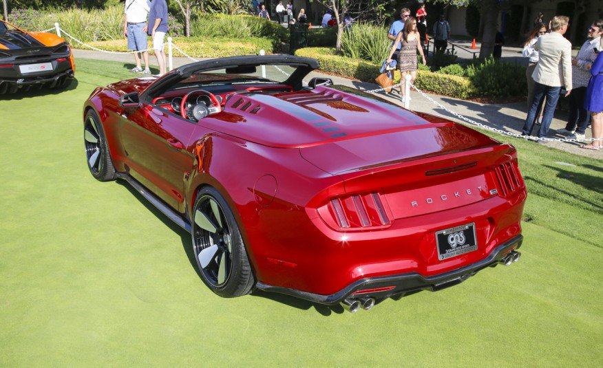 Galpin Ford Mustang Rocket Speedster The Awesomer