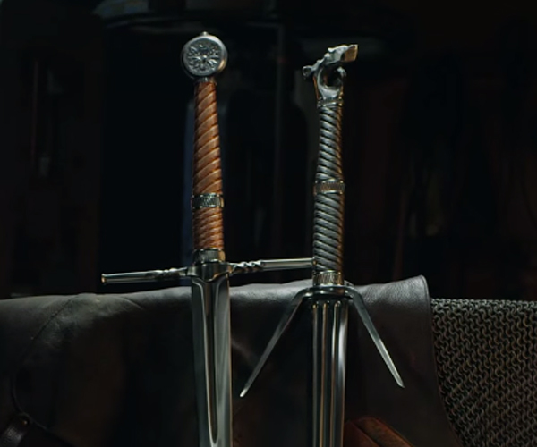Crafting Geralt's Swords
