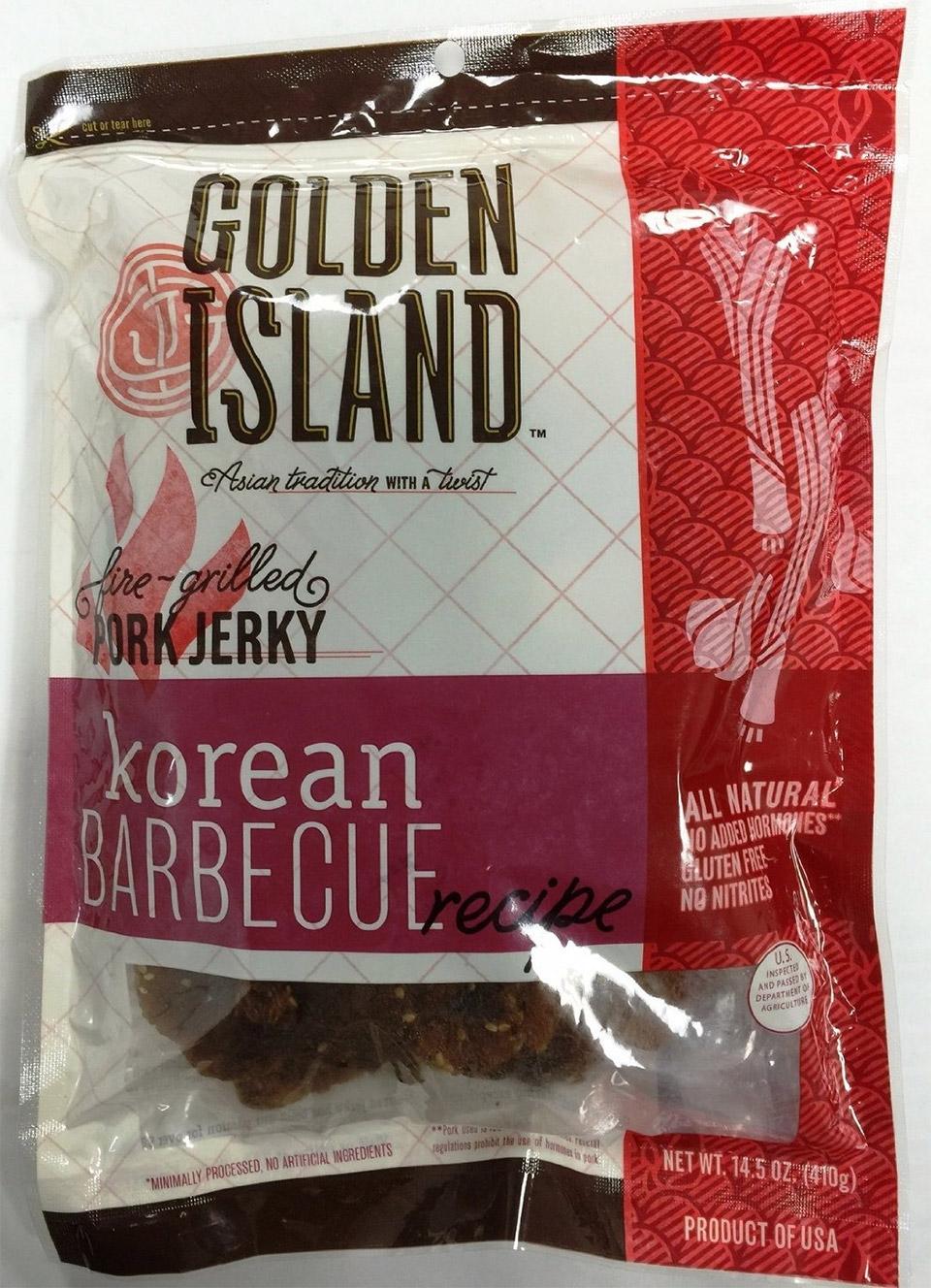 Golden Island Korean BBQ Jerky