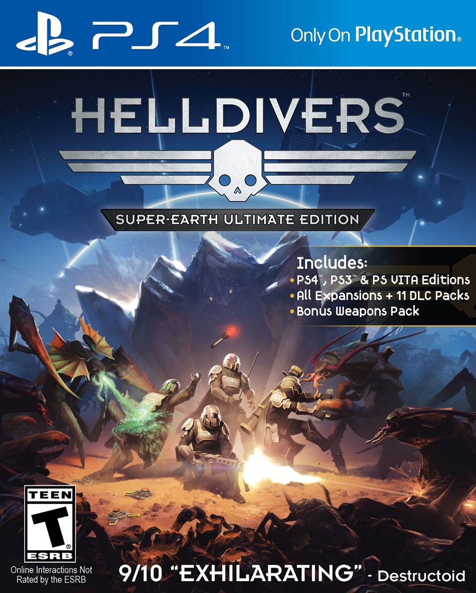 Helldivers Super-Earth Ultimate Ed.