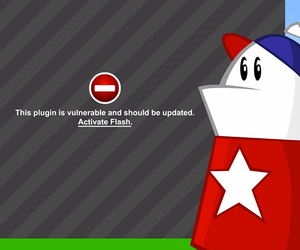 Homestar Runner: Flash is Dead!!