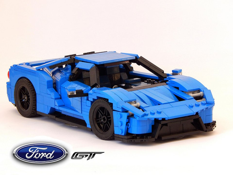 lego 2017 ford gt concept the awesomer. Black Bedroom Furniture Sets. Home Design Ideas