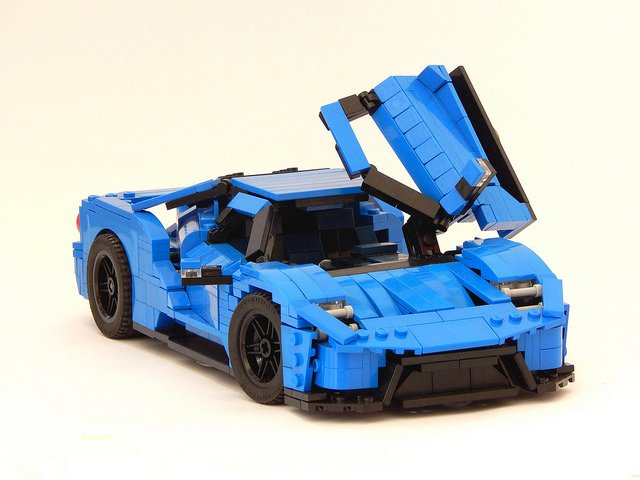 LEGO 2017 Ford GT Concept