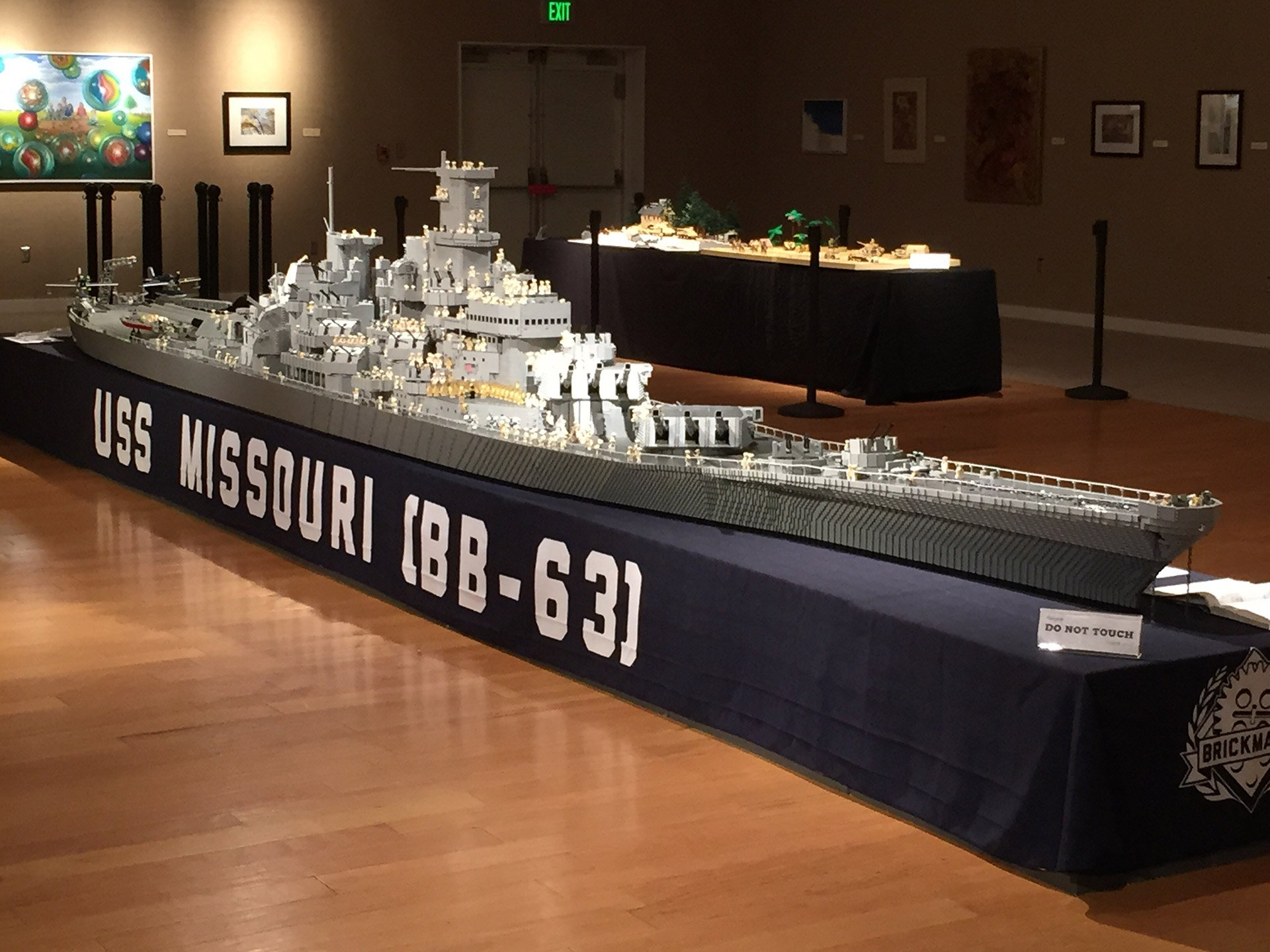 World's Largest LEGO Ship