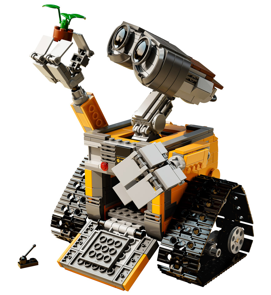 official lego wall e set the awesomer. Black Bedroom Furniture Sets. Home Design Ideas