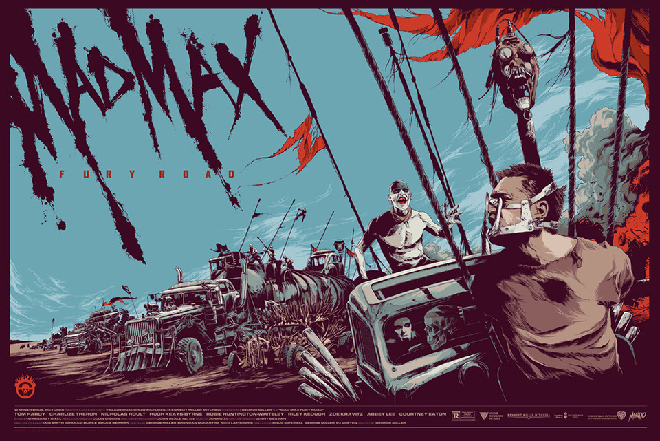 Mondo Mad Max: Fury Road Posters