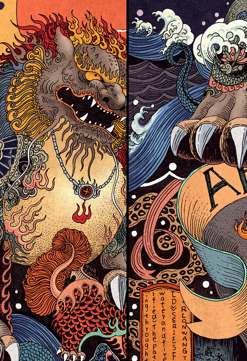 Rlon Wang's Illustrations