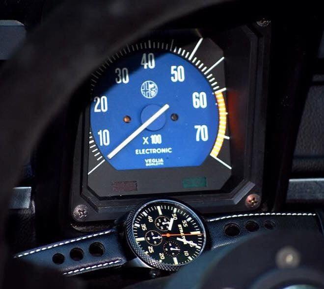 Straton Vintage Driver Chronograph