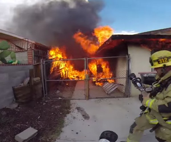 Structure Fire POV