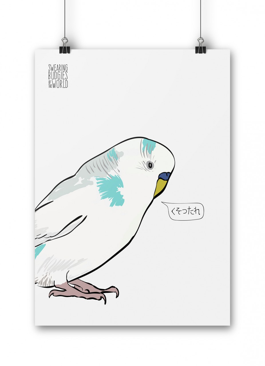 Swearing Budgies of the World