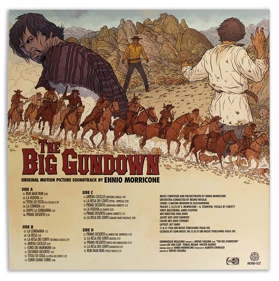 The Big Gundown OST 2XLP