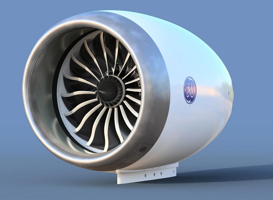 Working Jet Engine Model The Awesomer