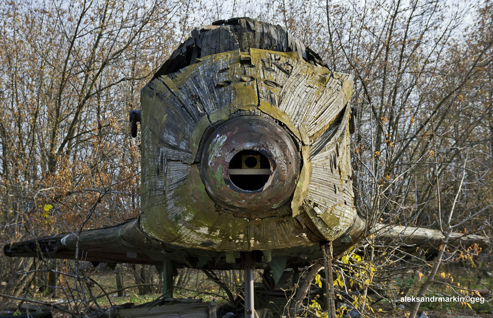 Abandoned Space Shuttle