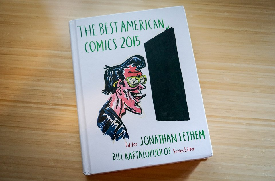 The Best American Comics 2015