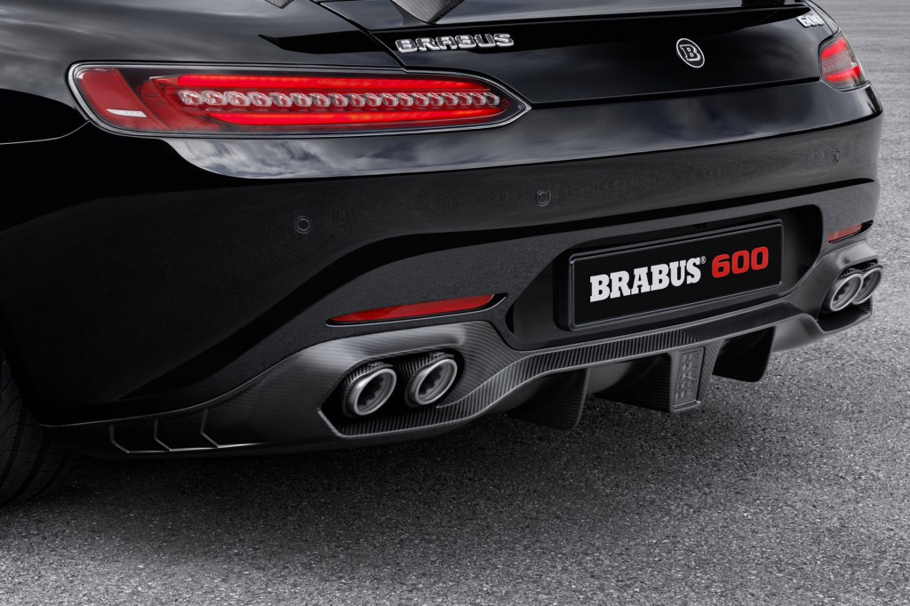 Brabus 600 Mercedes AMG GT S