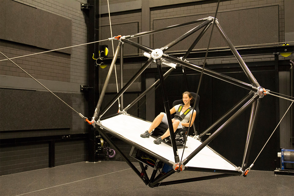 CableRobot Motion Simulator
