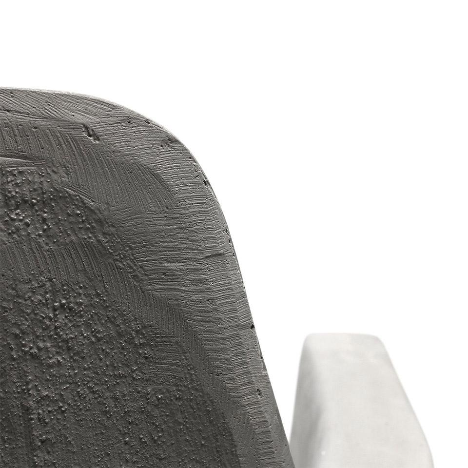 D'Hauteville Concrete Low Armchair
