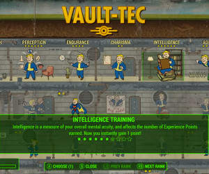 Fallout 4: Character System
