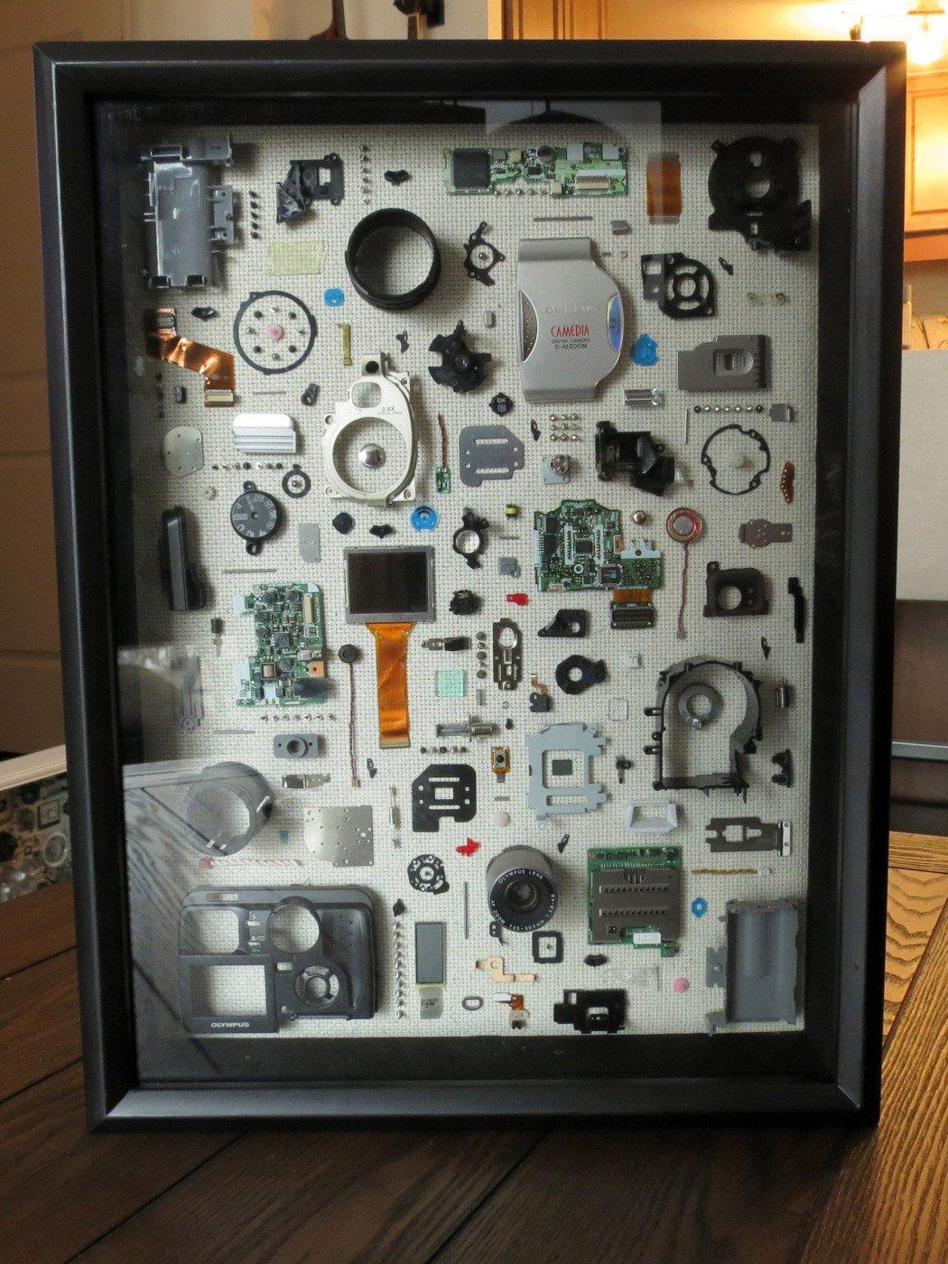 Fragmented Frames