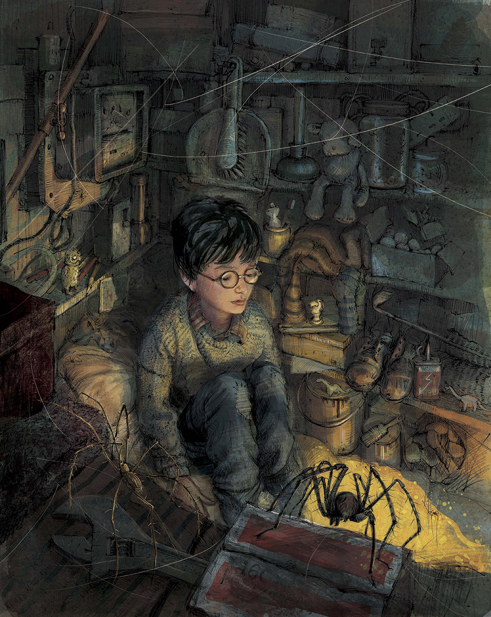 Harry Potter 1 Illustrated Edition