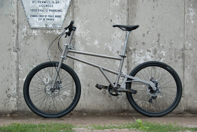 Helix Folding Bicycle