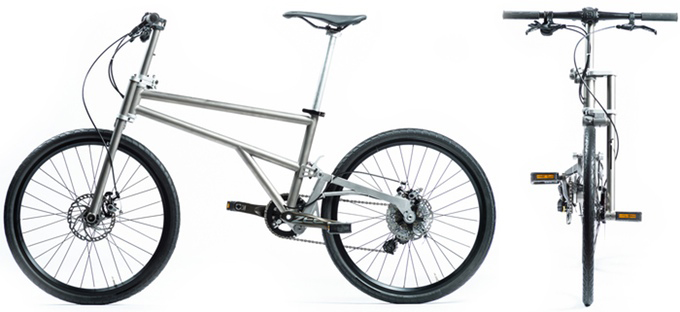 Helix Folding Bicycle
