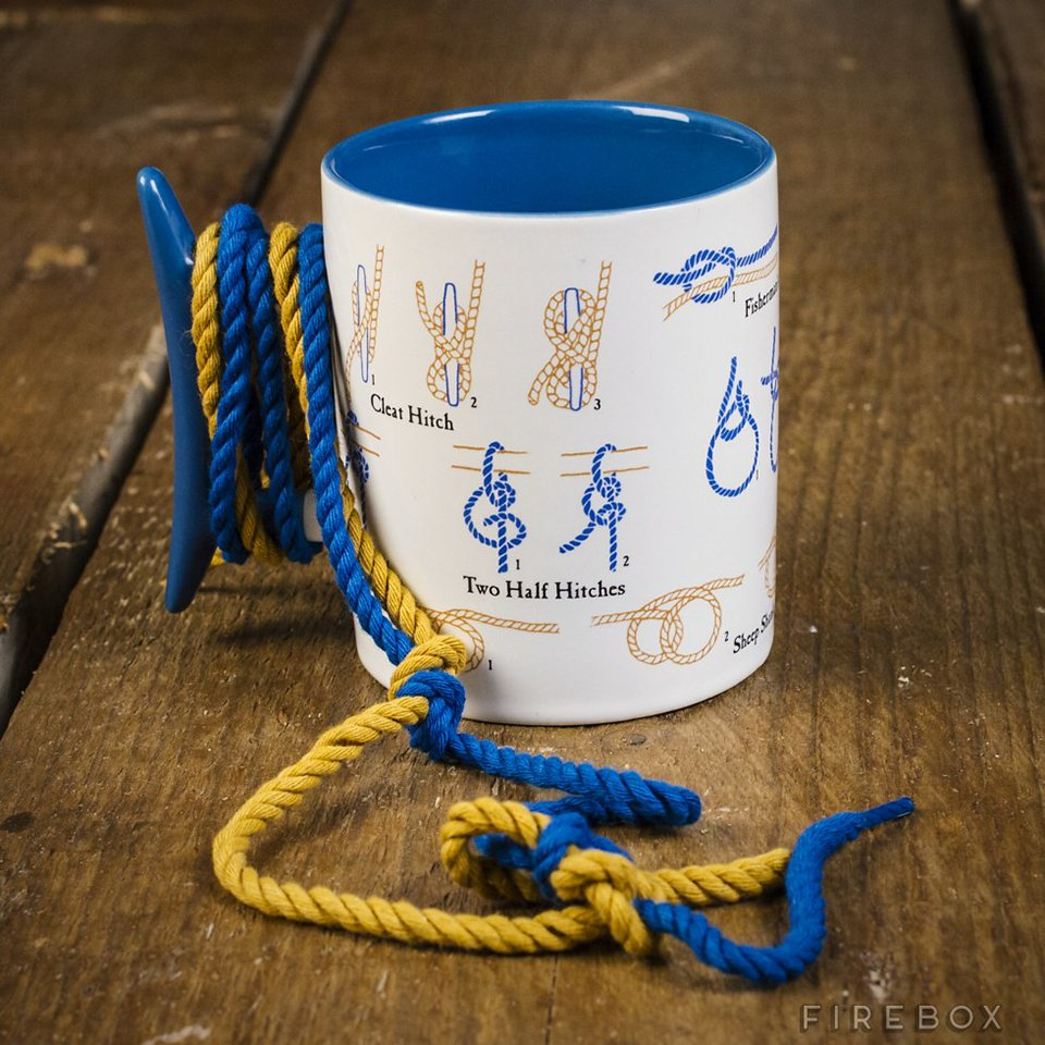 How to Tie Knots Mug