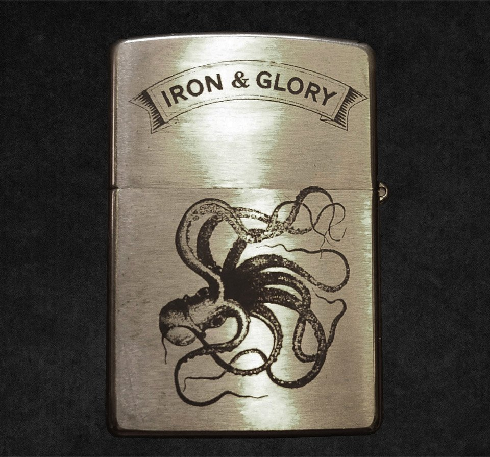 Iron and Glory Octopus Accessories
