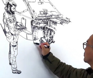 Mindblowing Freehand Illustration