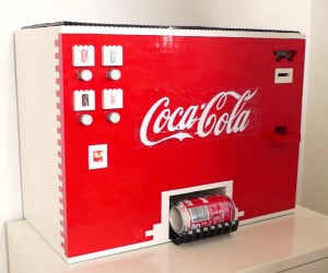 LEGO Coca-Cola Machine