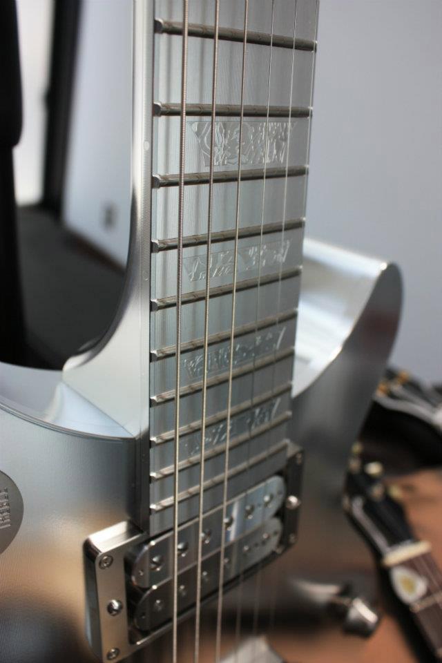 Milling a Metal Guitar