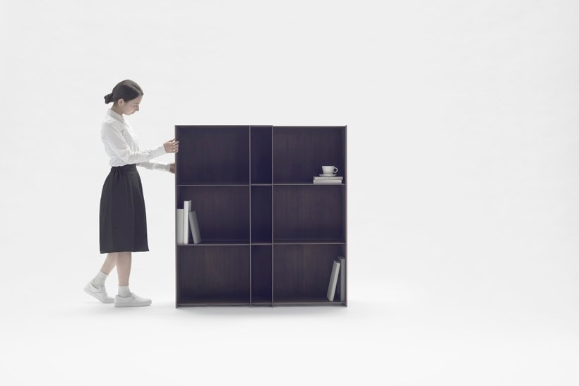 Nendo Nest Shelf