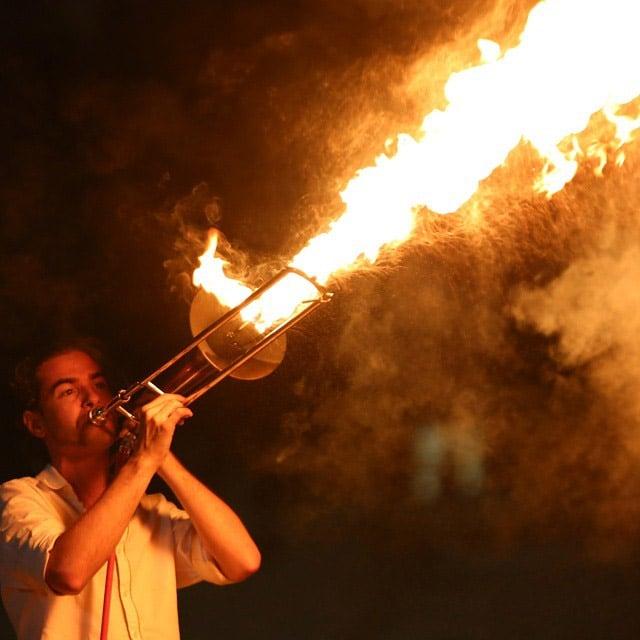 The Pyro Trombone