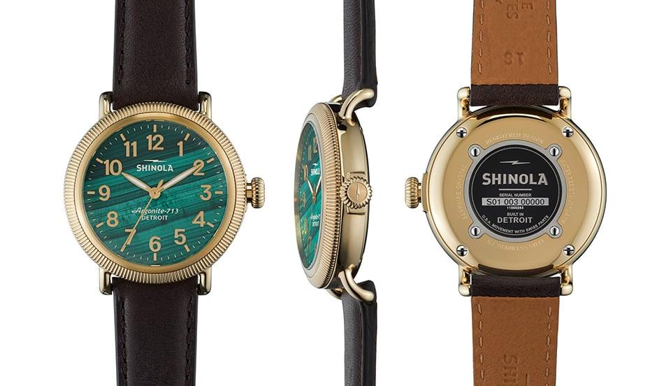 Shinola Stone Dial Collection