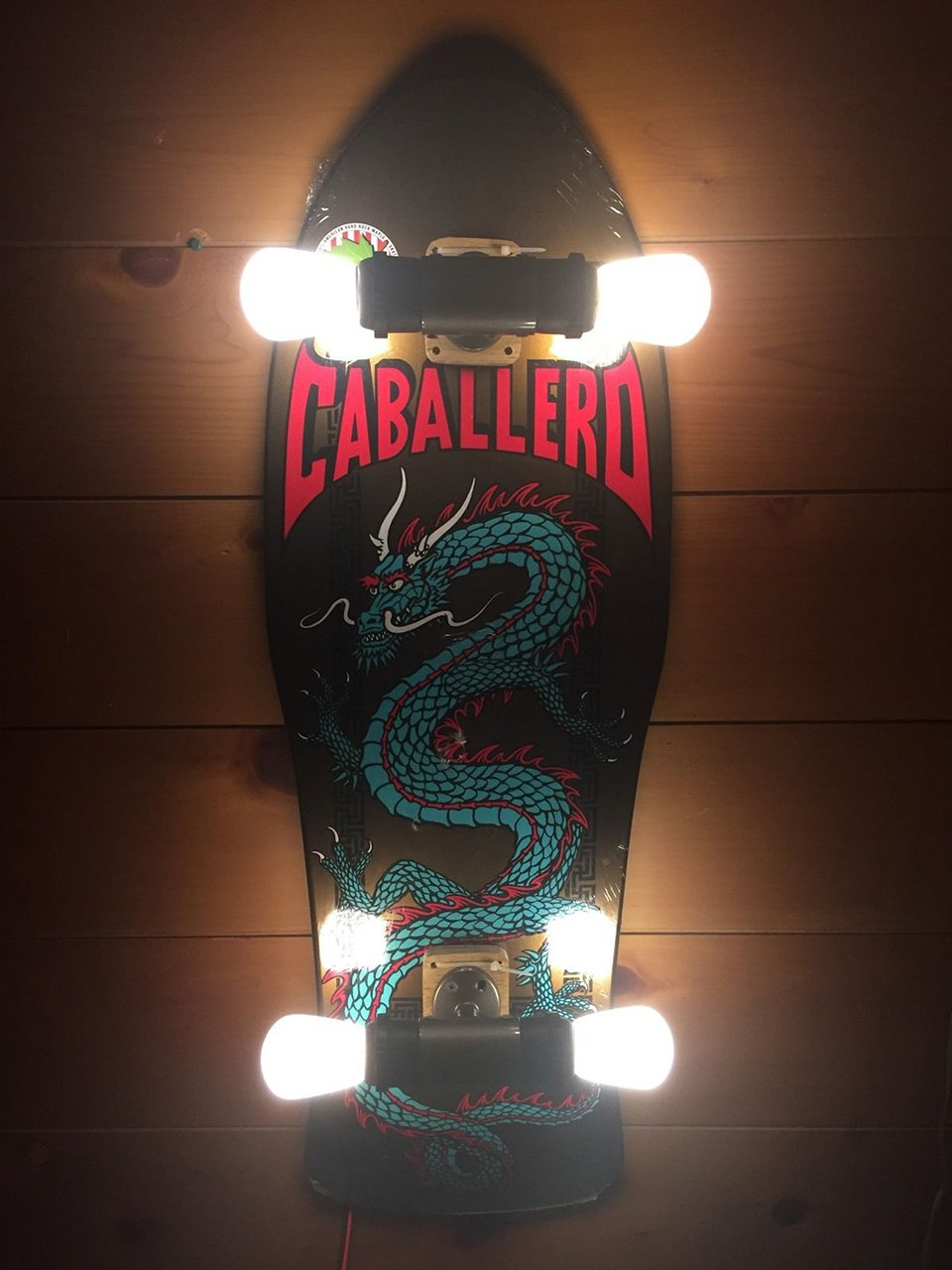 Skateboard Wall Lights